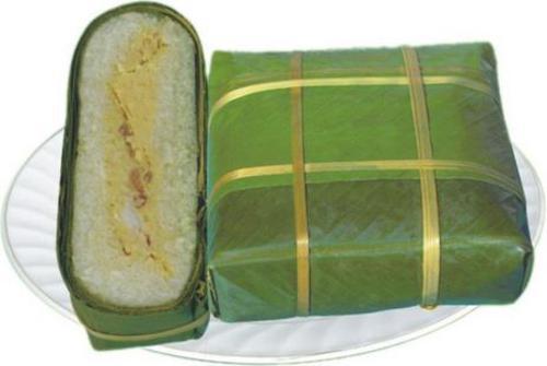 How to make Square glutinous rice cake (Chung cake)?