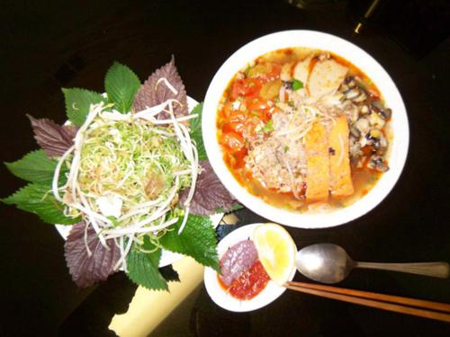 How to cook Vermicelli with Crab sour soup?