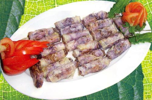 How to make Vegetable roll for TET