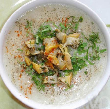 How to make Vietnamese gruel mussel?