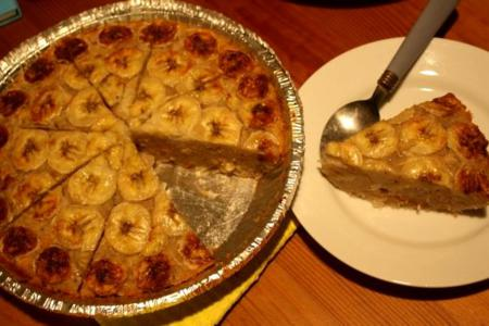 How to make Banana Bread Pudding cake?