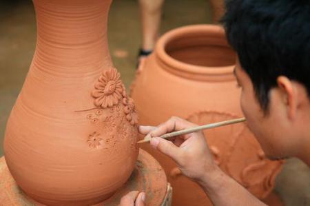 Vietnamese Handicraft Villages, Bat Trang Pottery Village, ha noi, ha noi city
