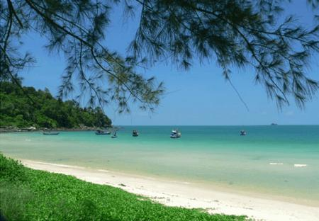 Ganh Dau beach in Phu Quoc island - Kien Giang province