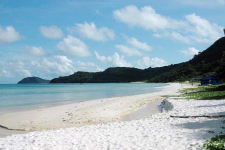 Sao beach in Phu Quoc island - Kien Giang province