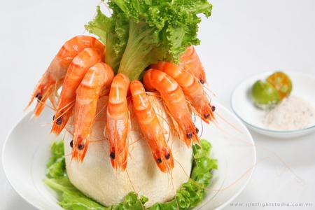 How To Cook Steamed Shrimps With Coconut Juice
