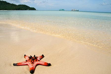 Truong beach in Phu Quoc island - Kien Giang province