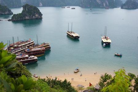 Quang Ninh province, Bai Chay beach, vietnam travel guide, vietnamese beach