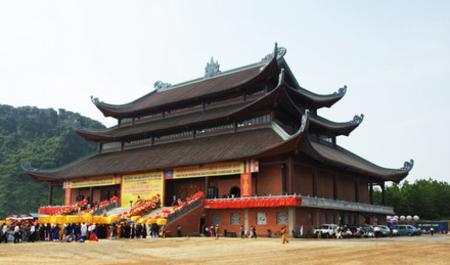 Bai Dinh pagoda in Ninh Binh province