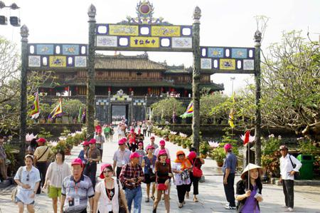 Hue arrives on tourist map
