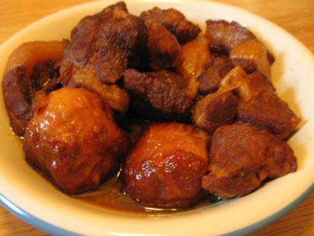 Vietnamese braised pork