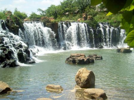lam dong province, da lat, Ponguor waterfall, da lat in photos