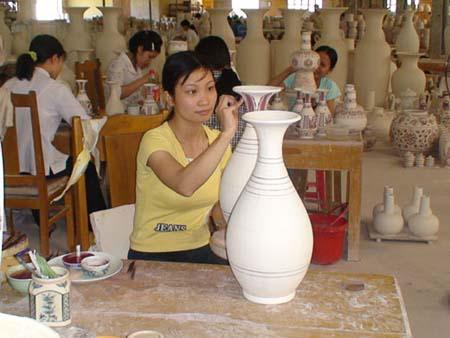 Open tourism programme Chu Dau Pottery Village – Hai Duong province
