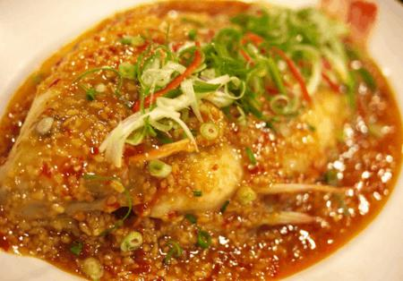 How to Steamed Red Tilapia with Soya Bean Jam