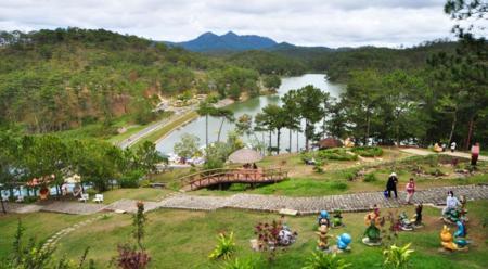 Da Lat, lam dong province, vietnam discovery, vietnam travel guide, love valley in da lat
