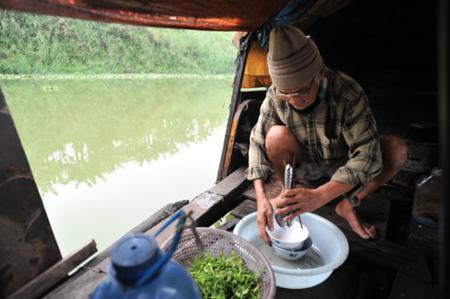ha noi, ha noi in photos, vietnamese village in photos, vietnamese village, Red River's floating village