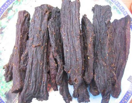 Dried buffalo meat – The specialty of Dien Bien