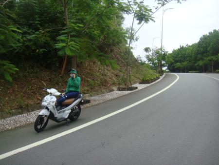 Travel by motorbike