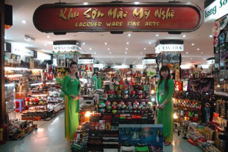 A lacquer ware fine arts - Thuong Xa Tax in Saigon