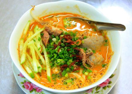 Hu Tieu sa te (Satay noodle) in Saigon