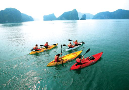Attractive activities while traveling in Cat Ba