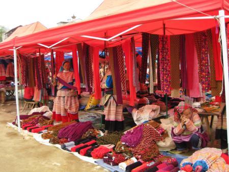 Bac Ha market in Sapa