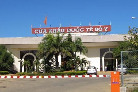 Bo Y international border gate