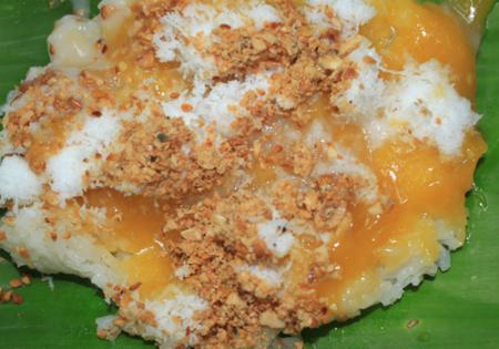 Xoi cade - Cade sticky rice