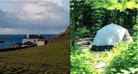 Cottage Or Camping - Which Is Best