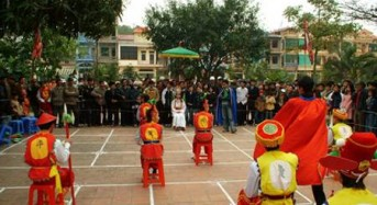 Human chess – The polk game in Vietnam's cultural festivals