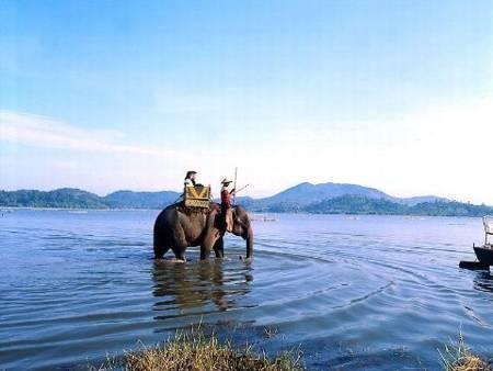 Lak lake in Dak Lak