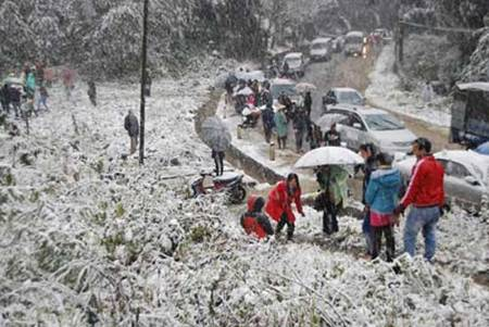 snow in sapa 2013-1