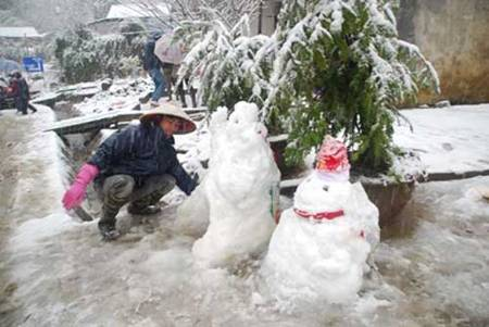 snow in sapa 2013-2