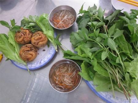 Cong cake in Mekong Delta Vietnam