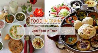 Get fast Jain food in train!