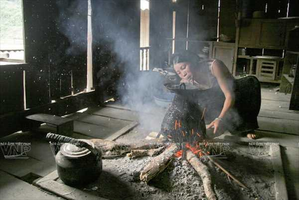 Muong ethnic cooking