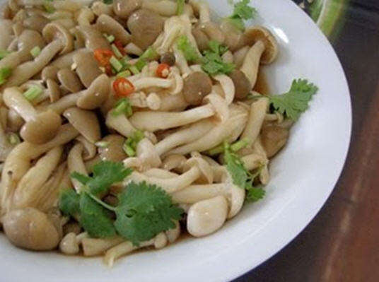 How to cook Vietnamese roasted oyster mushroom?