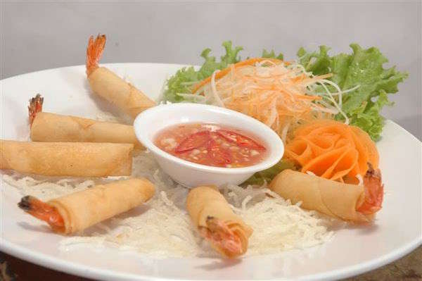 How to cook shrimp spring rolls?